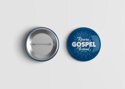 riviera gospel festival badge