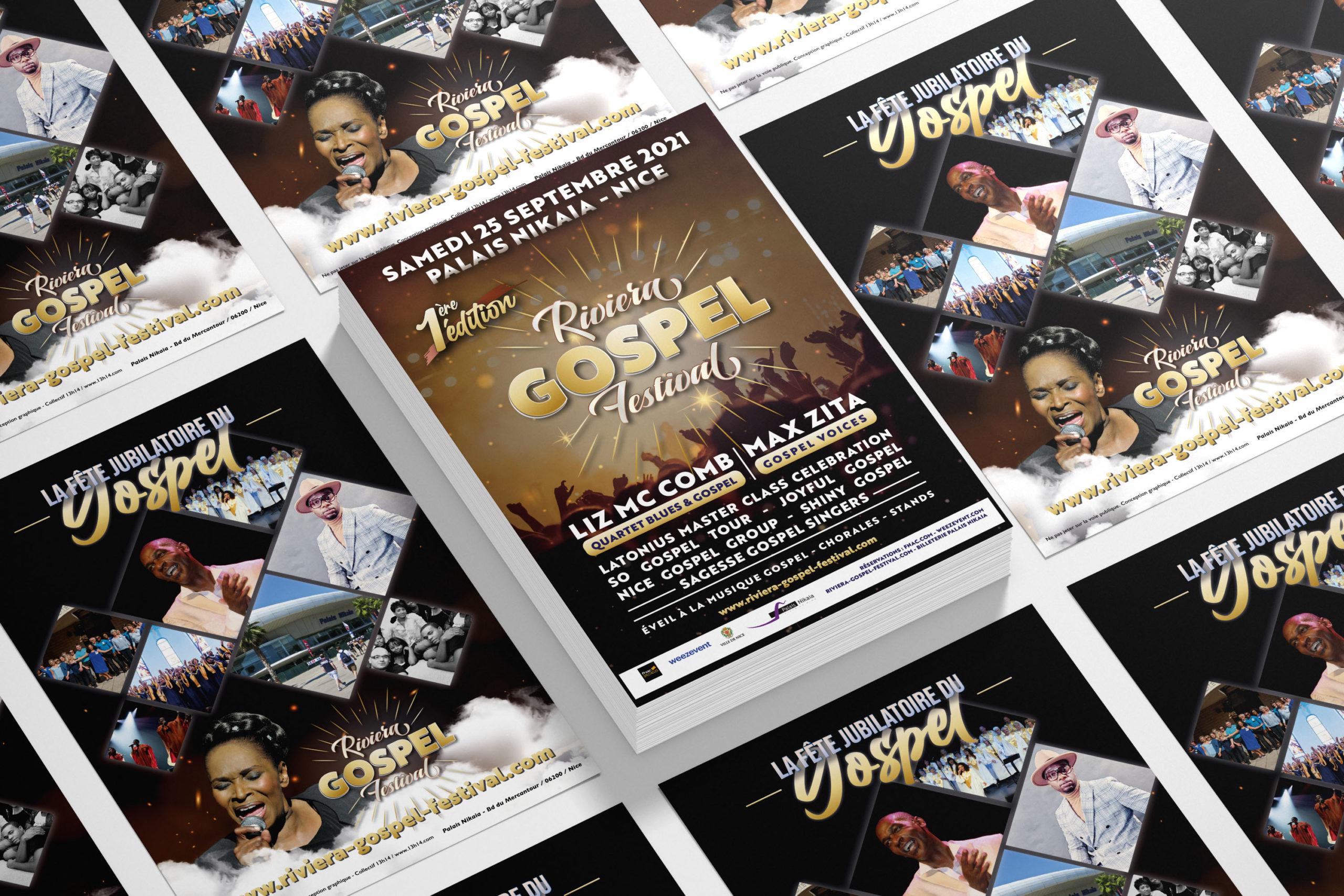 flyer riviera gospel festival